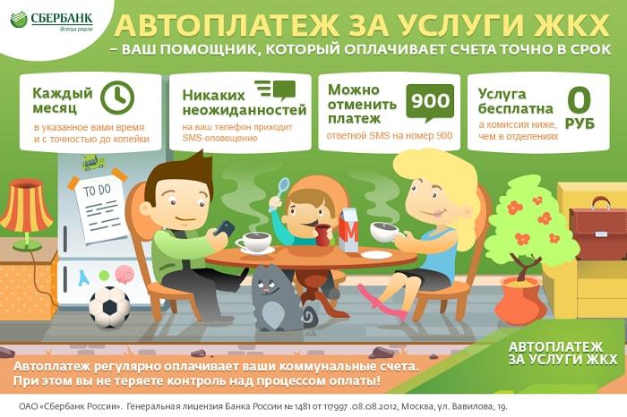 Реклама автоплатежа