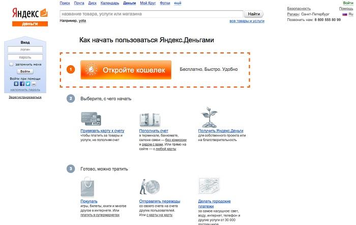 Платежная система Яндекс