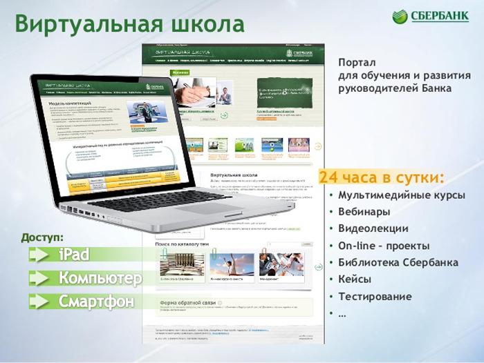 Преимущества виртуальной школы Сбербанка