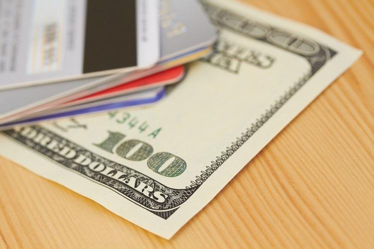 Доллары на карте