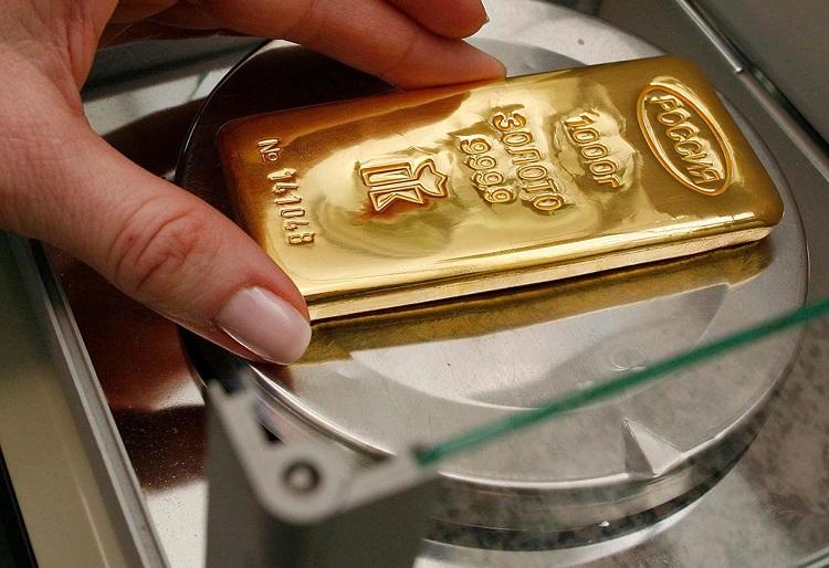 Взвешивание золота