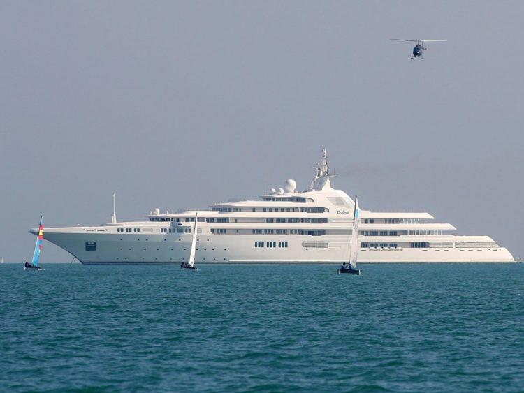 Яхта шейха