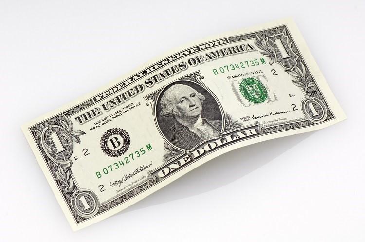 Купюра 1 доллар
